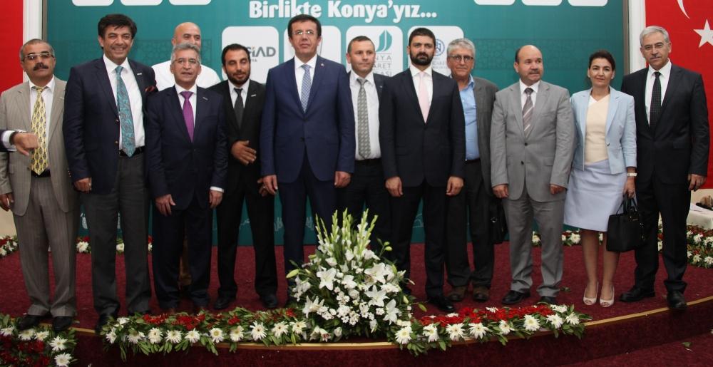 Bakan Nihat Zeybekçi'den Konyalı firmalara ödül 32