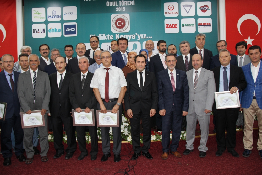 Bakan Nihat Zeybekçi'den Konyalı firmalara ödül 7