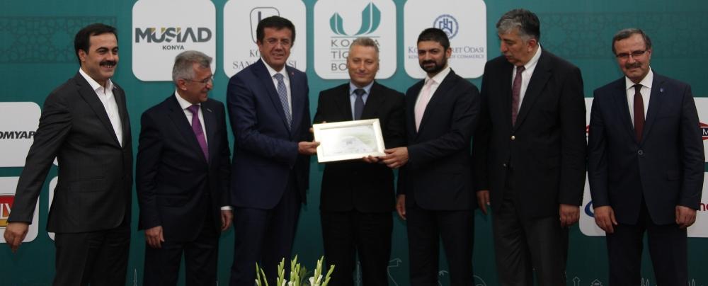 Bakan Nihat Zeybekçi'den Konyalı firmalara ödül 8