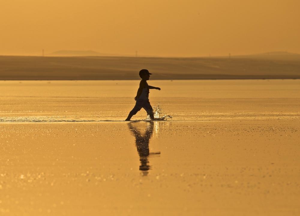 Tuz Gölü'ne tatilcilerinden büyük ilgi 10