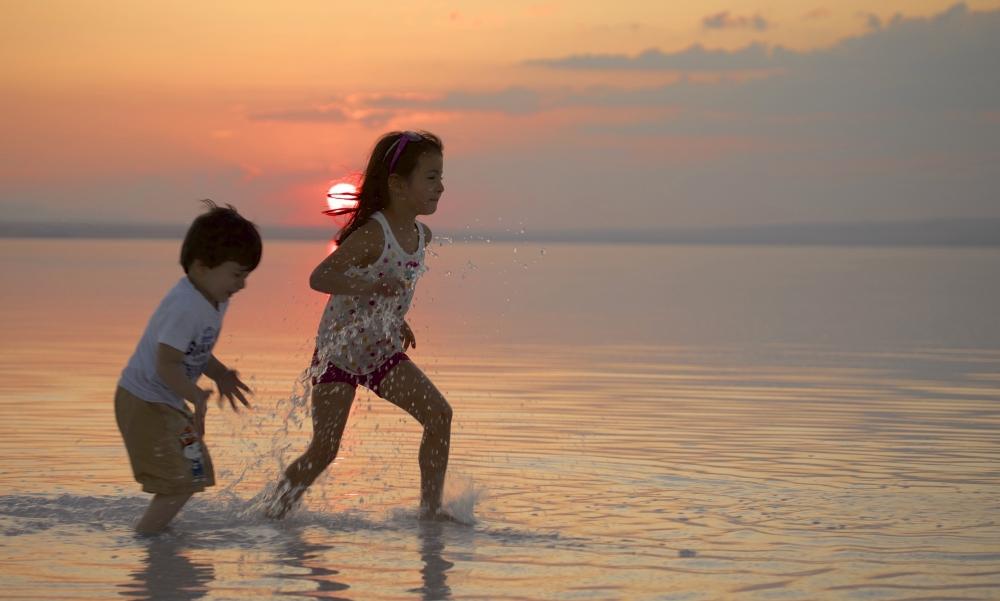 Tuz Gölü'ne tatilcilerinden büyük ilgi 11