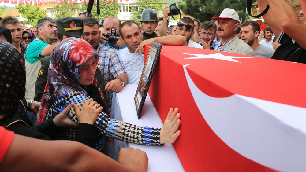 Şehit Jandarma Astsubay Üstçavuş Taştiken'e veda 5