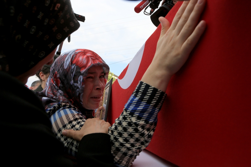 Şehit Jandarma Astsubay Üstçavuş Taştiken'e veda 8