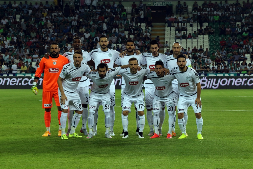 Torku Konyaspor-Akhisar Belediyespor: 1-1 1
