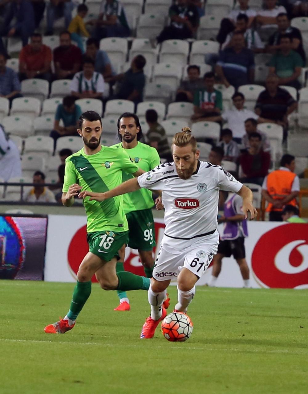 Torku Konyaspor-Akhisar Belediyespor: 1-1 13