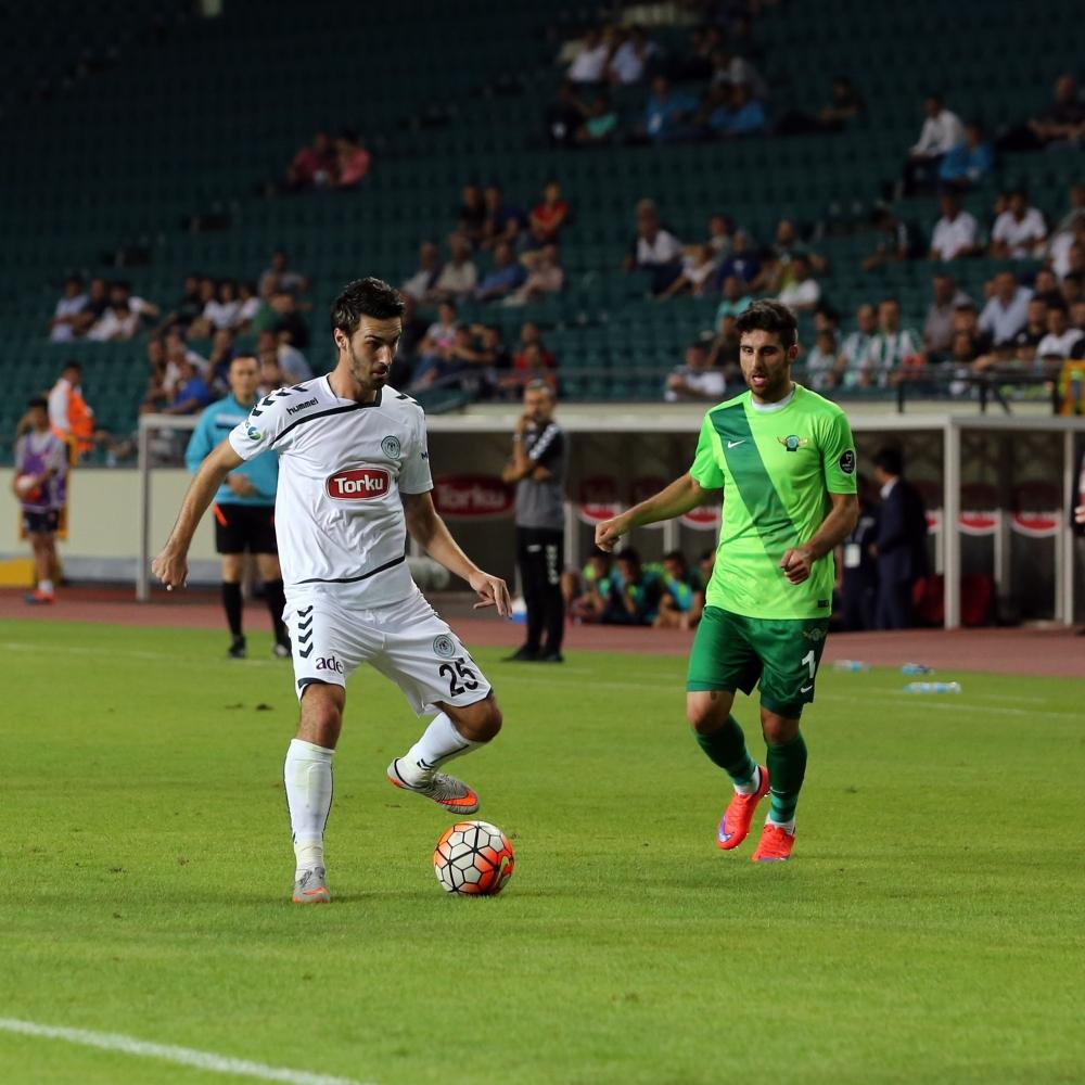 Torku Konyaspor-Akhisar Belediyespor: 1-1 14