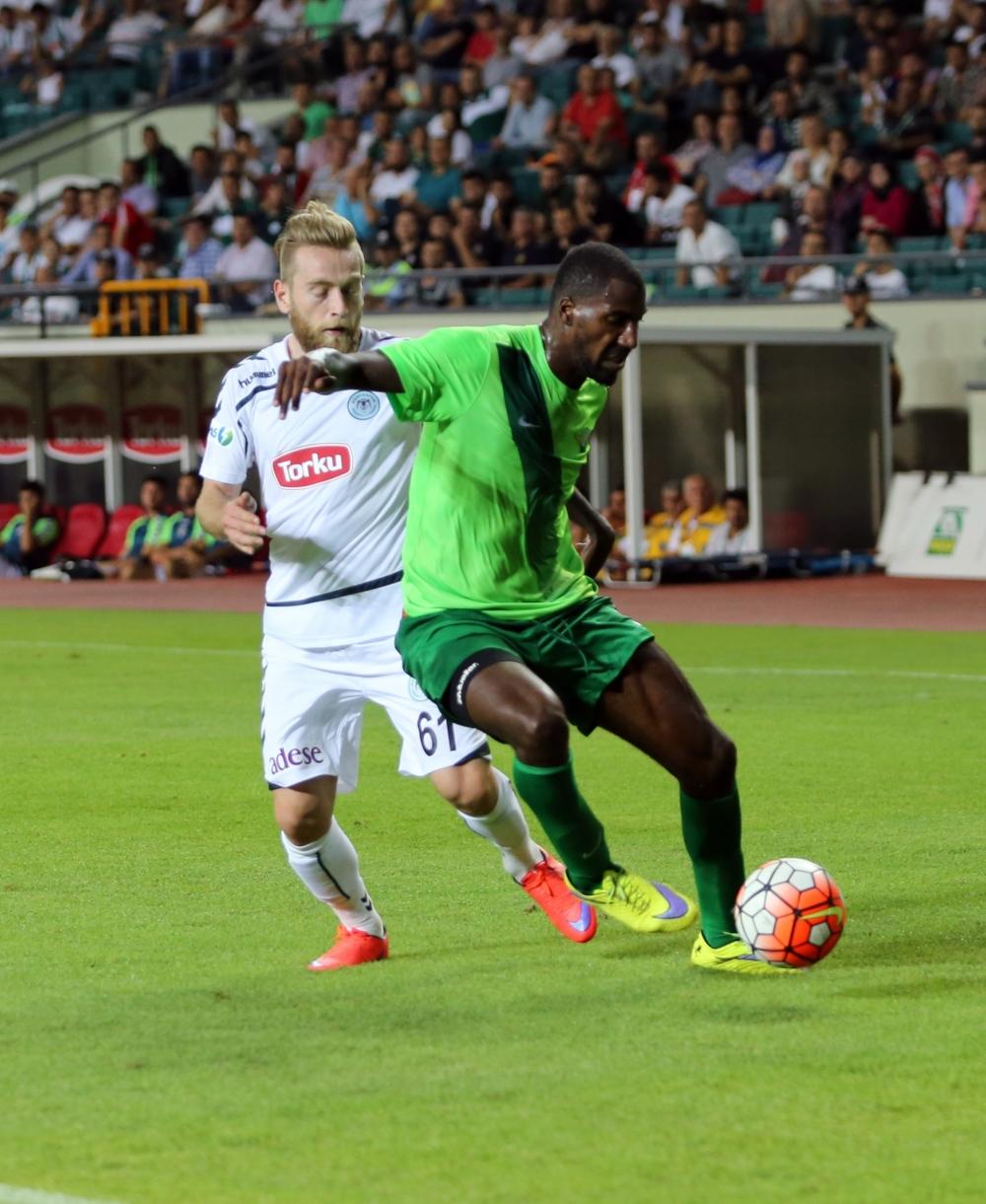 Torku Konyaspor-Akhisar Belediyespor: 1-1 16