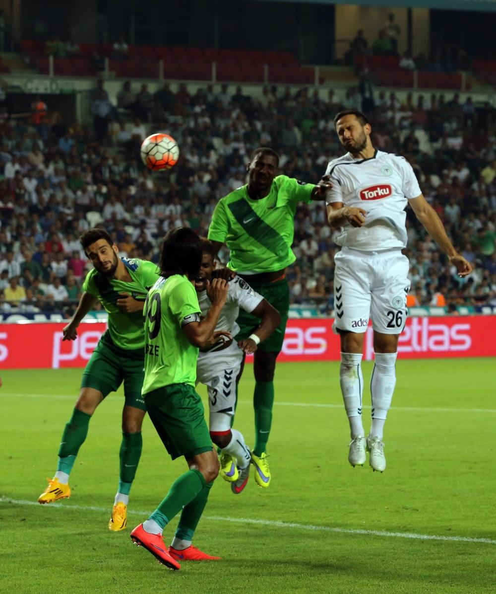 Torku Konyaspor-Akhisar Belediyespor: 1-1 17