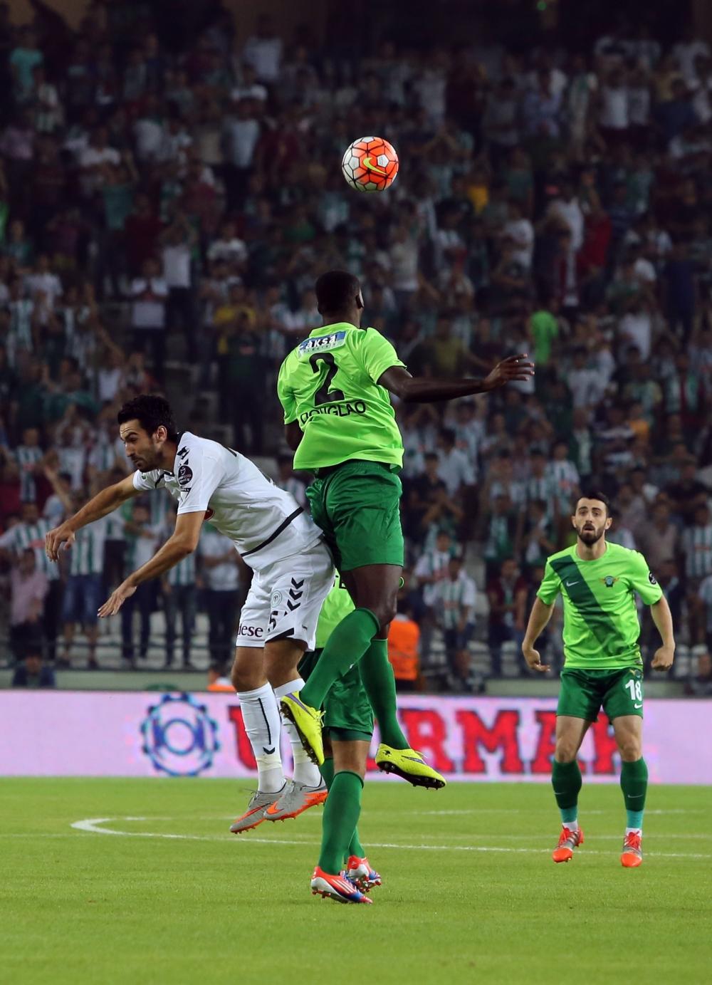 Torku Konyaspor-Akhisar Belediyespor: 1-1 18