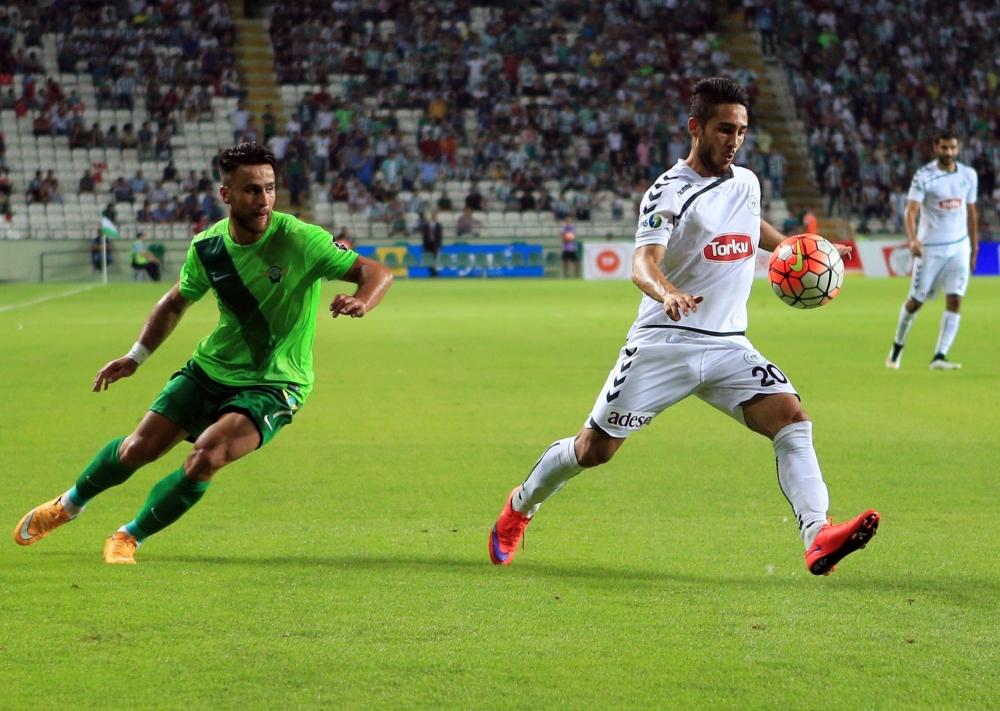 Torku Konyaspor-Akhisar Belediyespor: 1-1 2