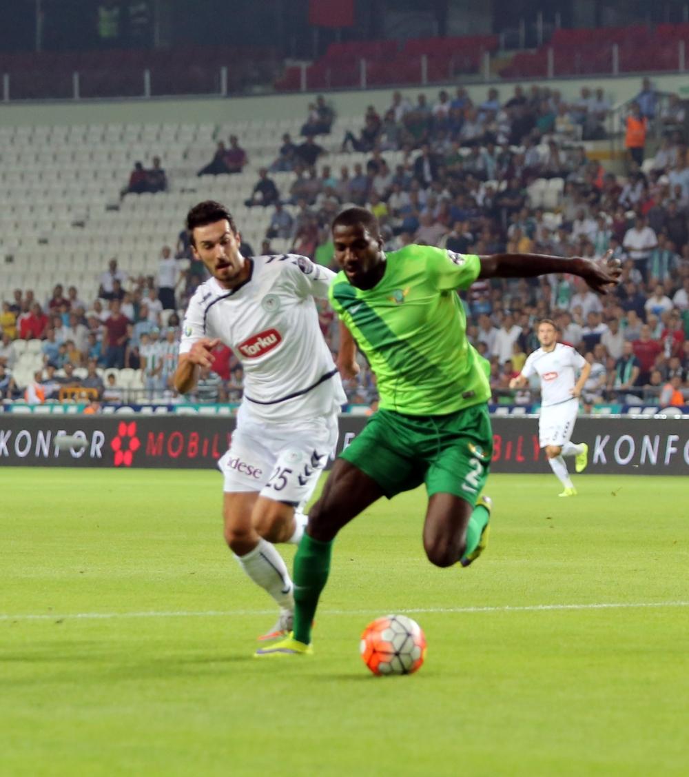 Torku Konyaspor-Akhisar Belediyespor: 1-1 24