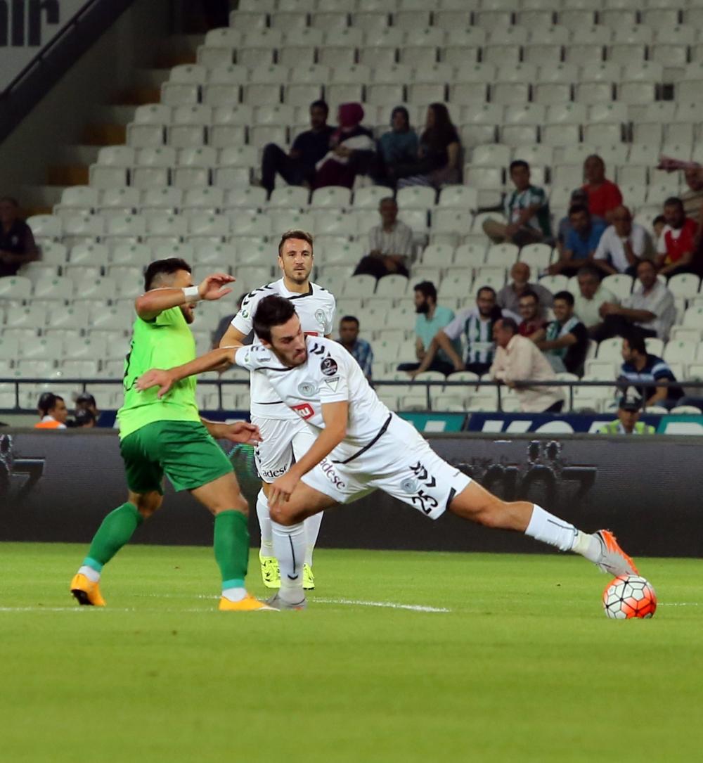 Torku Konyaspor-Akhisar Belediyespor: 1-1 28