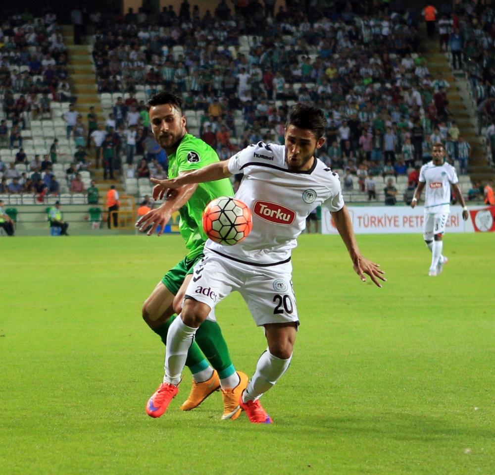 Torku Konyaspor-Akhisar Belediyespor: 1-1 3