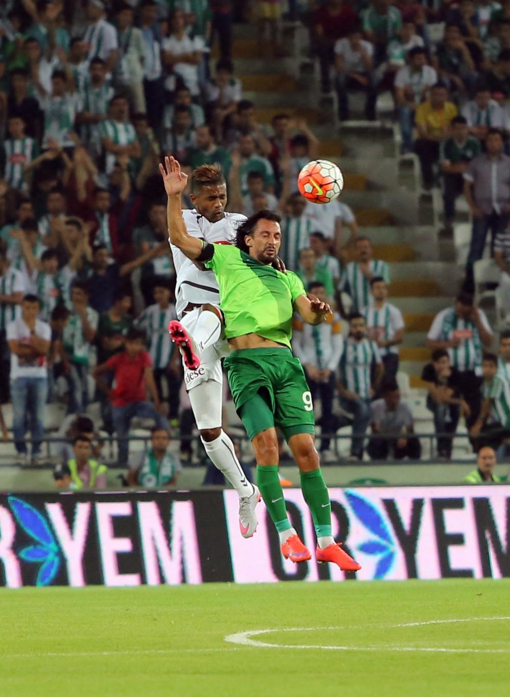 Torku Konyaspor-Akhisar Belediyespor: 1-1 32