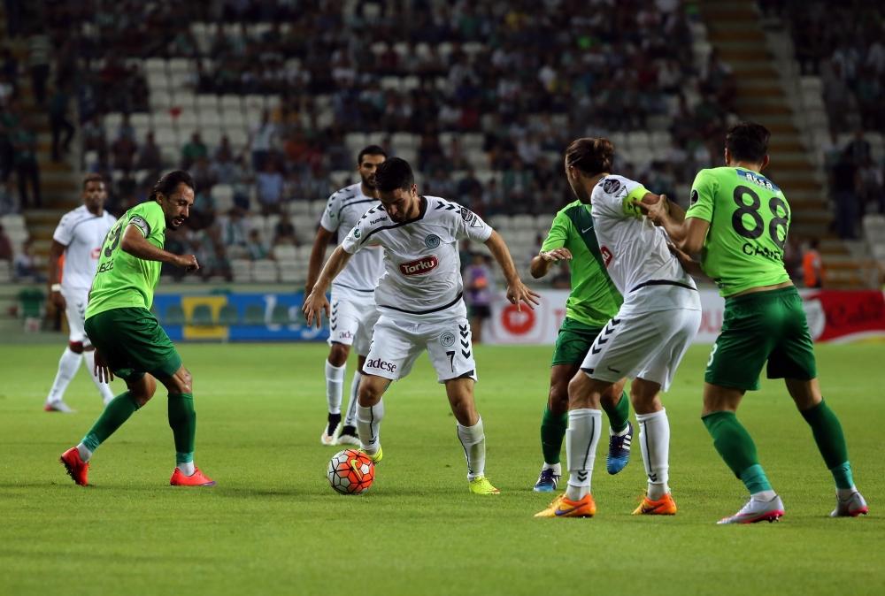 Torku Konyaspor-Akhisar Belediyespor: 1-1 33