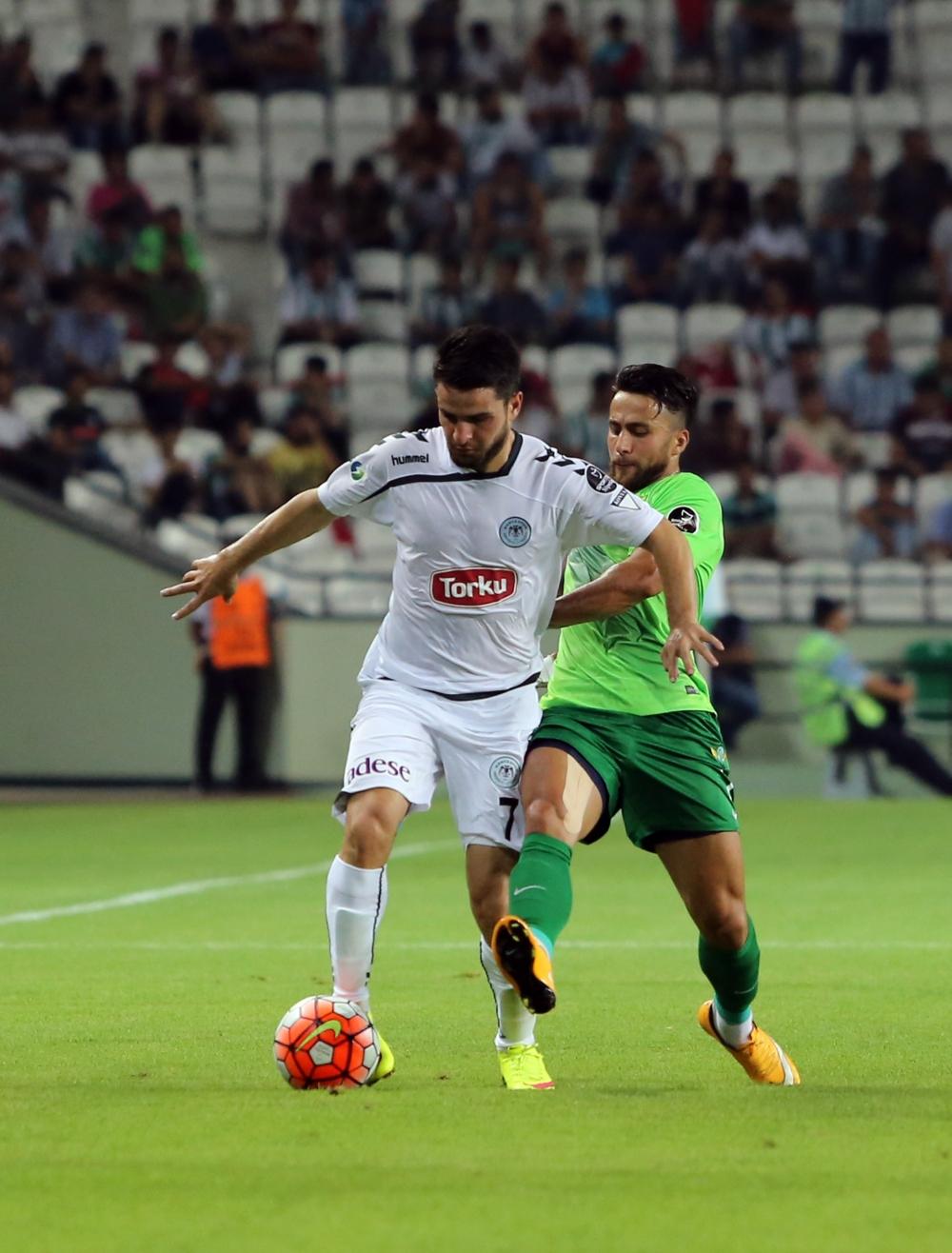 Torku Konyaspor-Akhisar Belediyespor: 1-1 34