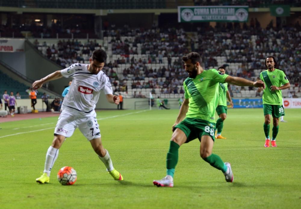Torku Konyaspor-Akhisar Belediyespor: 1-1 35