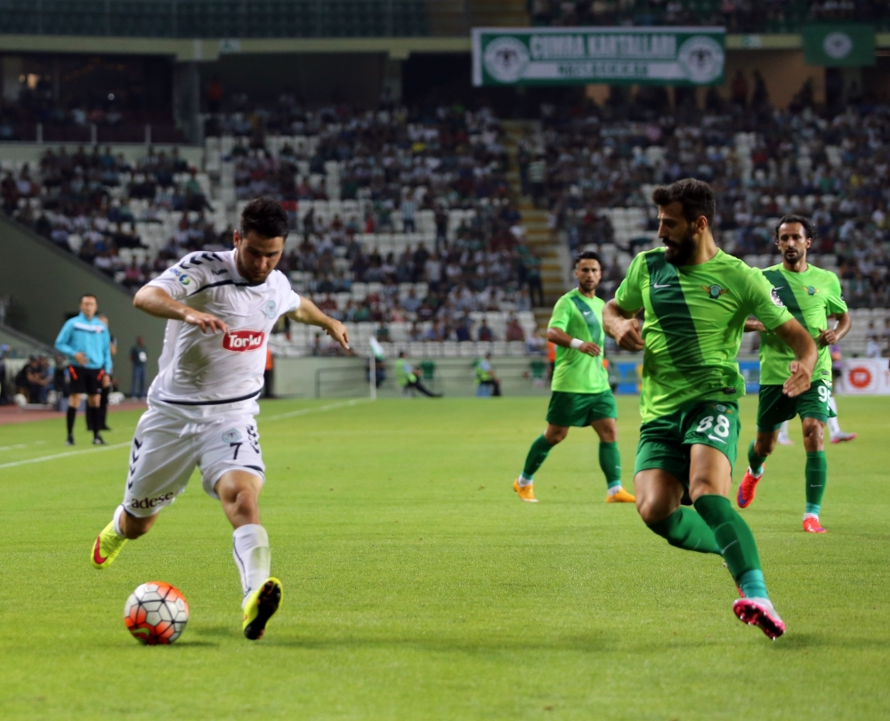 Torku Konyaspor-Akhisar Belediyespor: 1-1 36