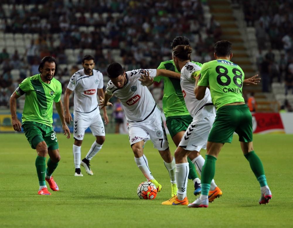 Torku Konyaspor-Akhisar Belediyespor: 1-1 37