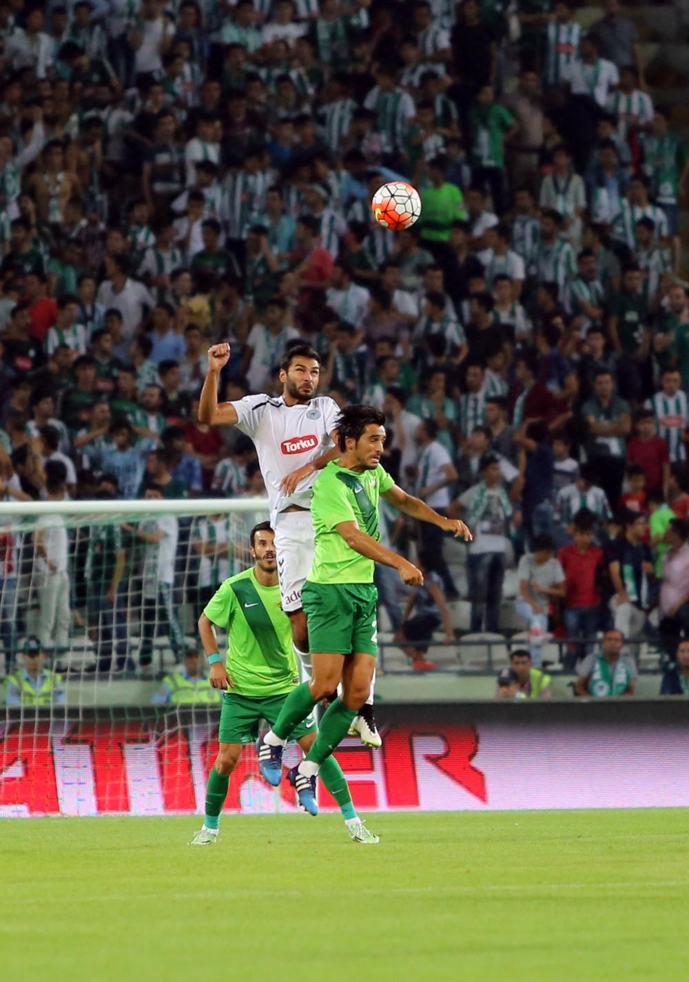 Torku Konyaspor-Akhisar Belediyespor: 1-1 38