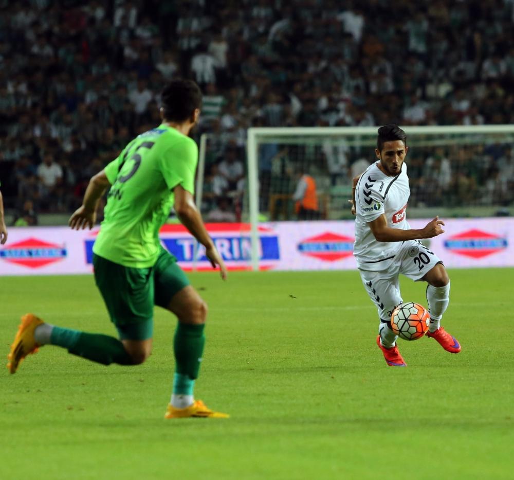 Torku Konyaspor-Akhisar Belediyespor: 1-1 39