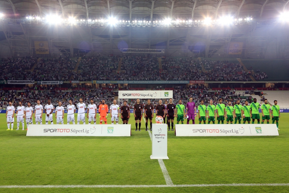 Torku Konyaspor-Akhisar Belediyespor: 1-1 4