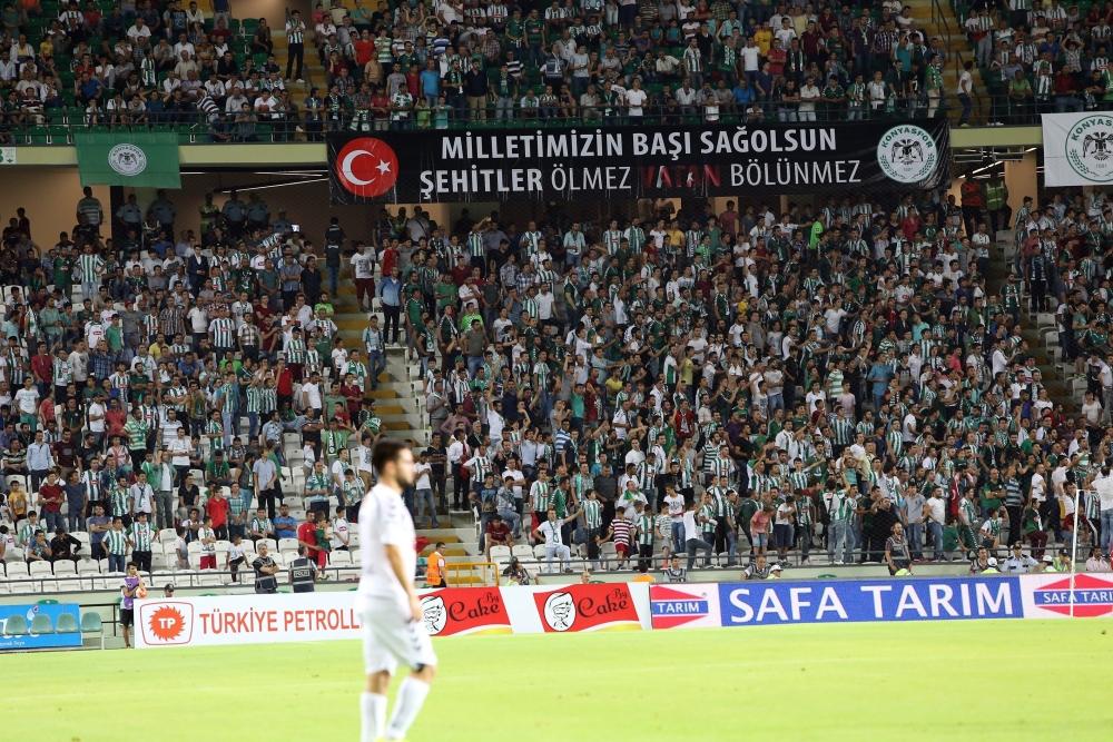 Torku Konyaspor-Akhisar Belediyespor: 1-1 40