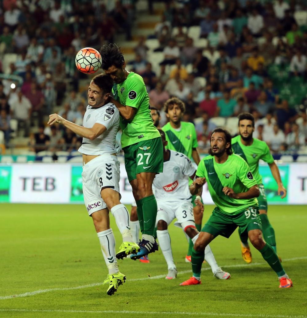 Torku Konyaspor-Akhisar Belediyespor: 1-1 42