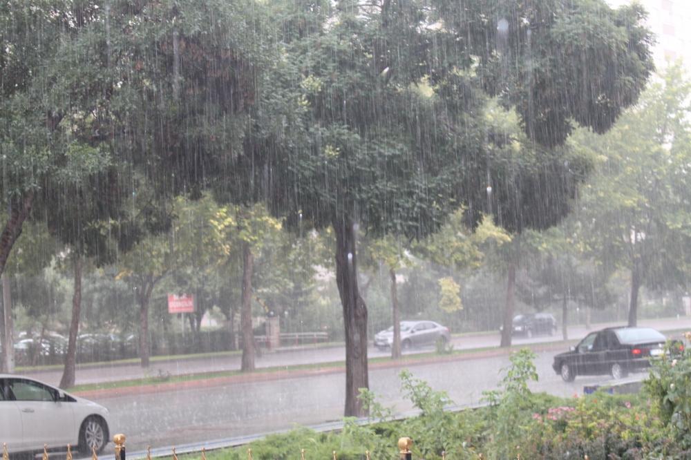 Yağmur serinletti 1
