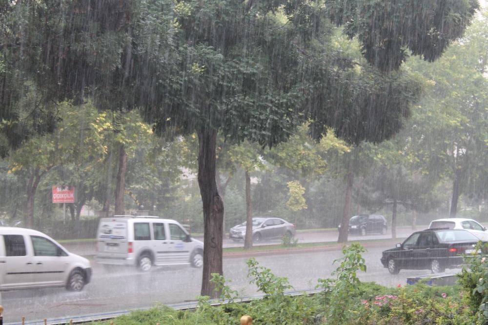 Yağmur serinletti 2