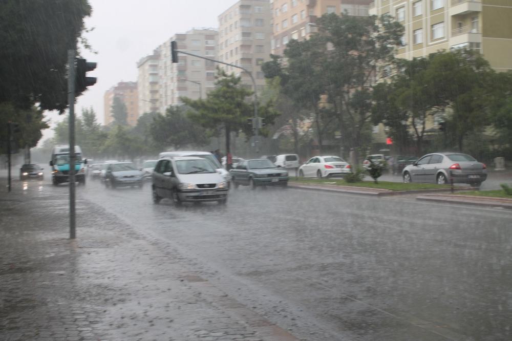 Yağmur serinletti 3