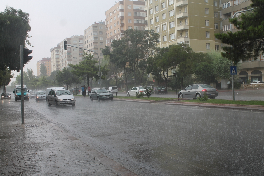 Yağmur serinletti 9