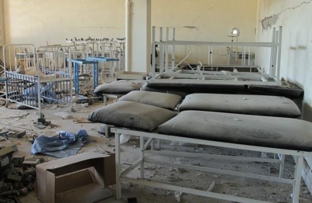 Muhaliflerin ele geçirdiği Kindi Hastanesi 7