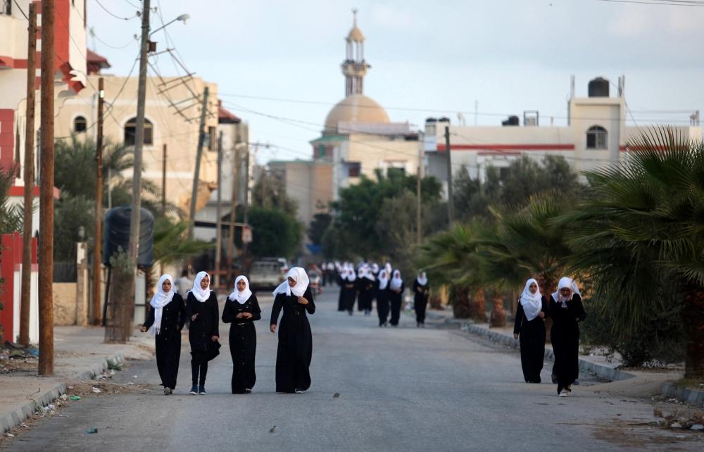 Filistin'de yeni eğitim-öğretim yılı başladı 1