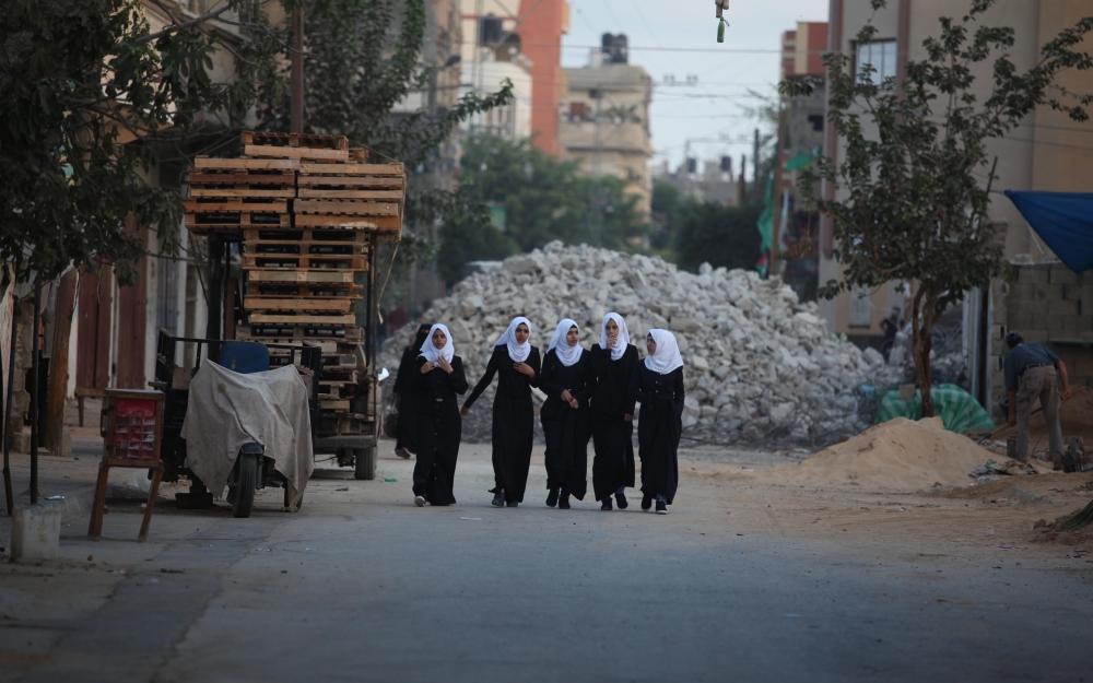 Filistin'de yeni eğitim-öğretim yılı başladı 2