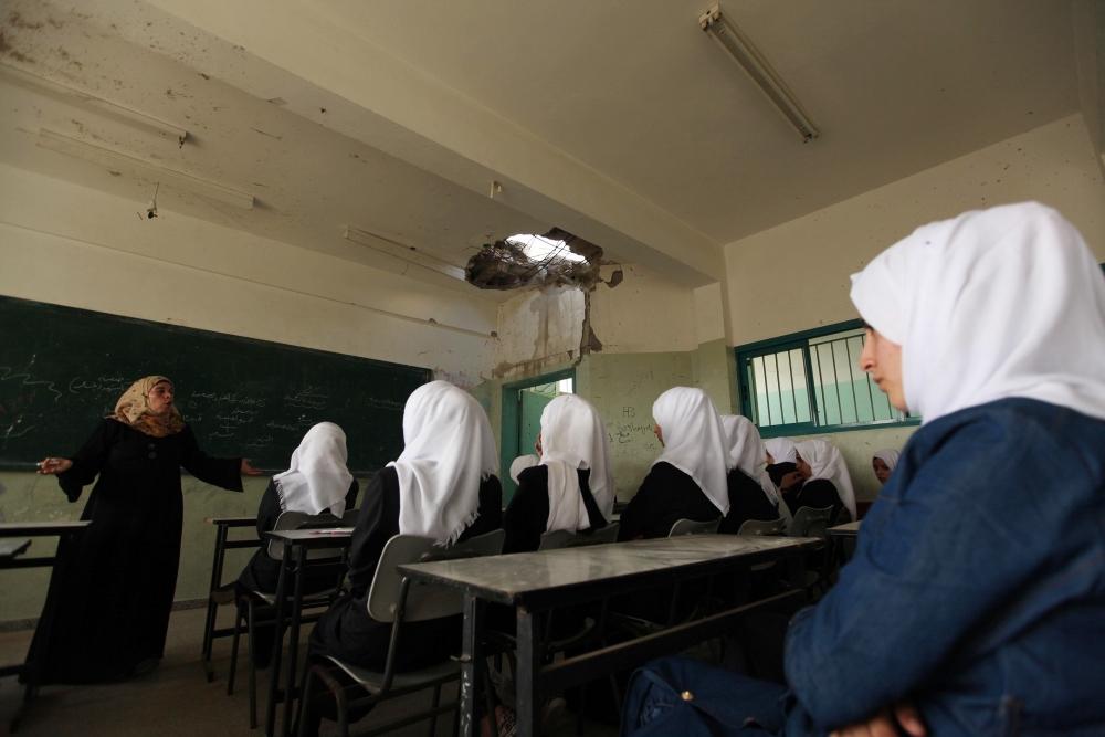 Filistin'de yeni eğitim-öğretim yılı başladı 8