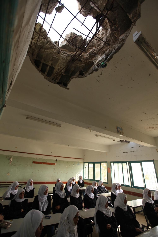 Filistin'de yeni eğitim-öğretim yılı başladı 9