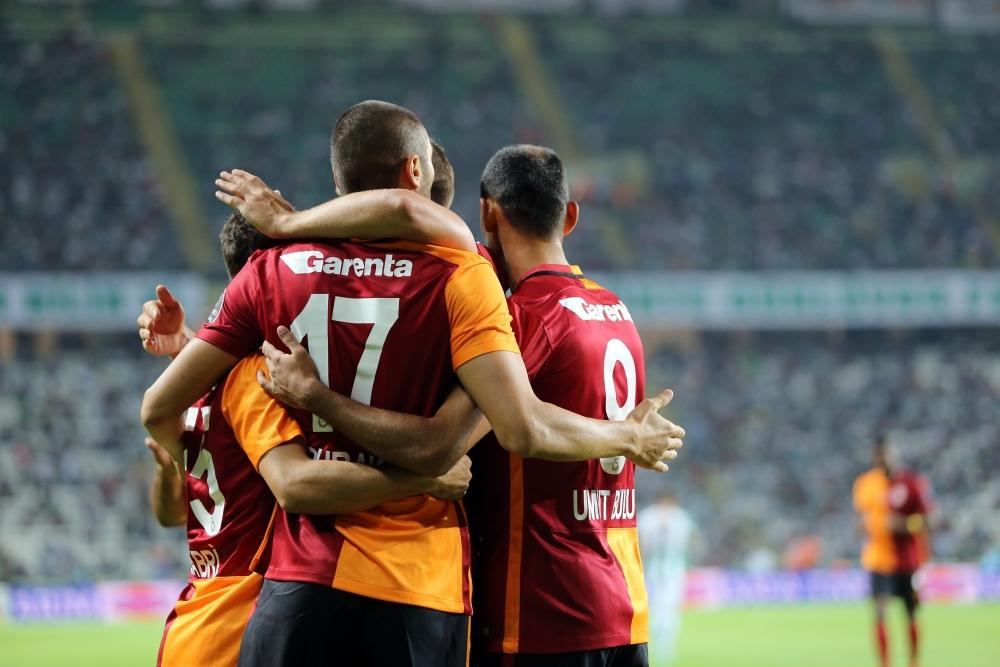 Torku Konyaspor: 1 Galatasaray: 4 19