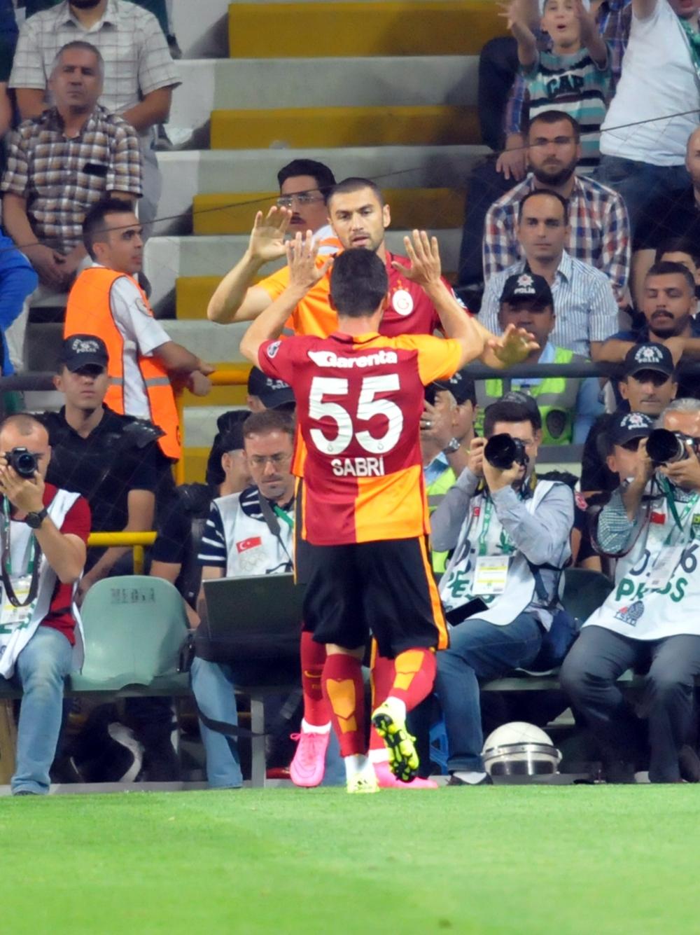 Torku Konyaspor: 1 Galatasaray: 4 20