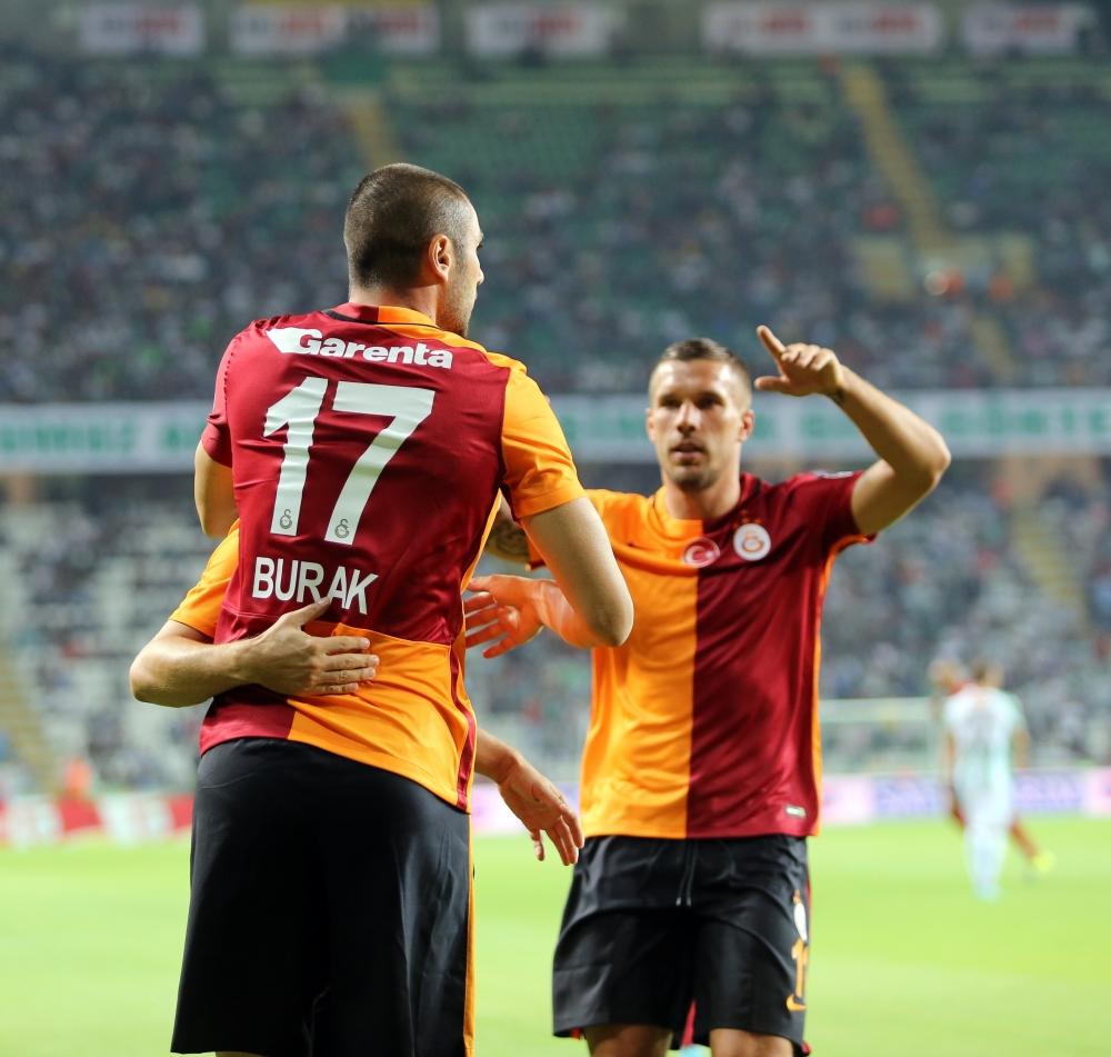 Torku Konyaspor: 1 Galatasaray: 4 21