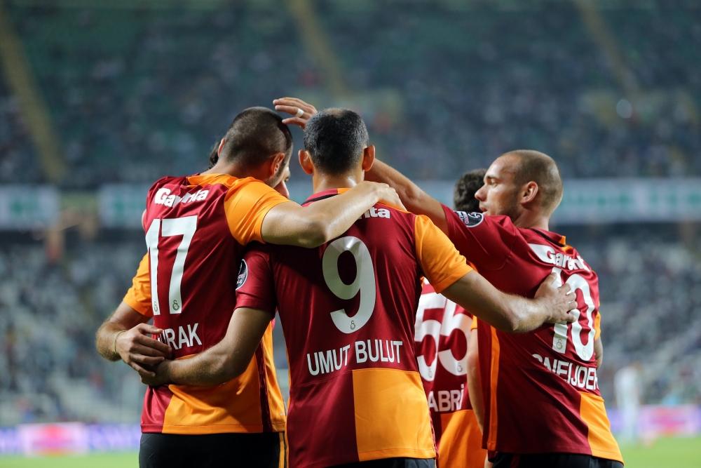 Torku Konyaspor: 1 Galatasaray: 4 22