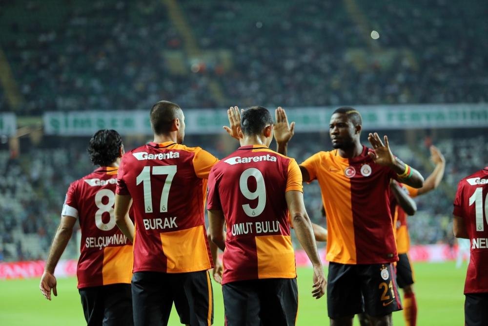 Torku Konyaspor: 1 Galatasaray: 4 24