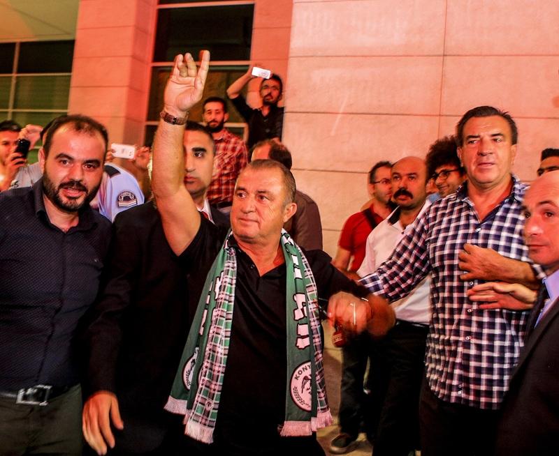 A Milli Takım'a Konya'da muhteşem karşılama! 10
