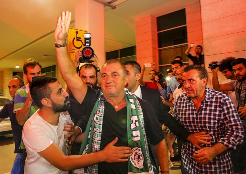 A Milli Takım'a Konya'da muhteşem karşılama! 12
