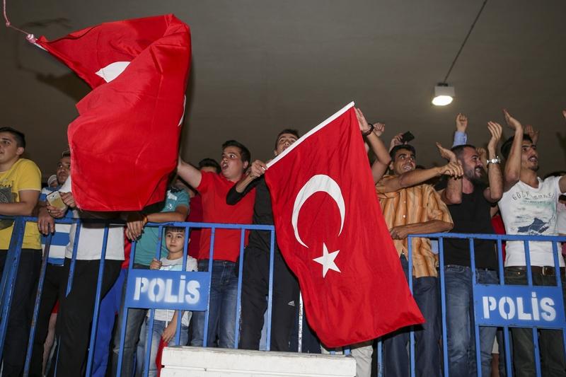 A Milli Takım'a Konya'da muhteşem karşılama! 14
