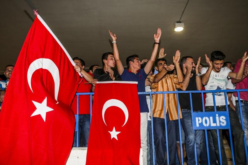 A Milli Takım'a Konya'da muhteşem karşılama! 15
