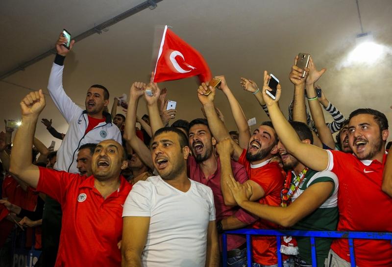 A Milli Takım'a Konya'da muhteşem karşılama! 18