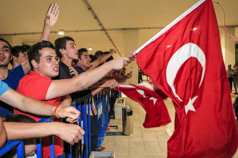 A Milli Takım'a Konya'da muhteşem karşılama! 20
