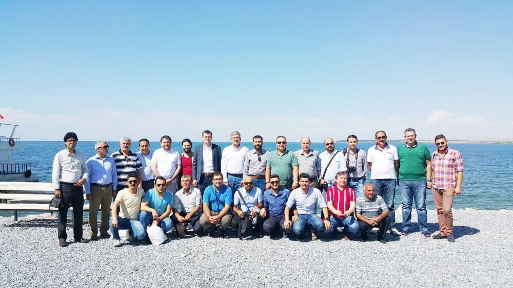 Konyalı gazeteciler Van ziyareti 10