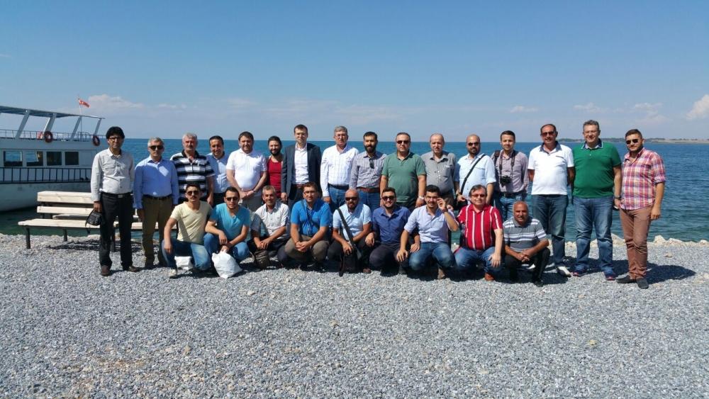 Konyalı gazeteciler Van ziyareti 11